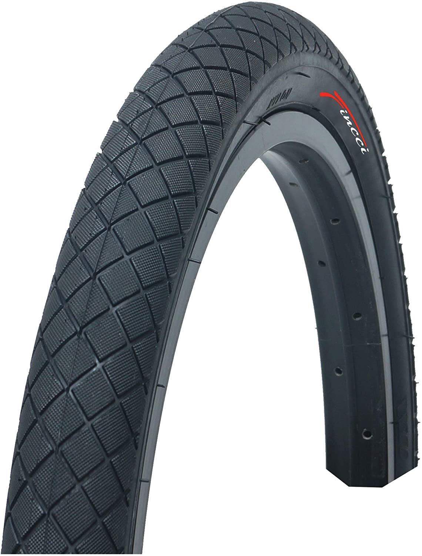 """2 x Fincci 20/"""" x 1.95/"""" Bike Bicycle BMX Tyres  High Quality Black Pair"""