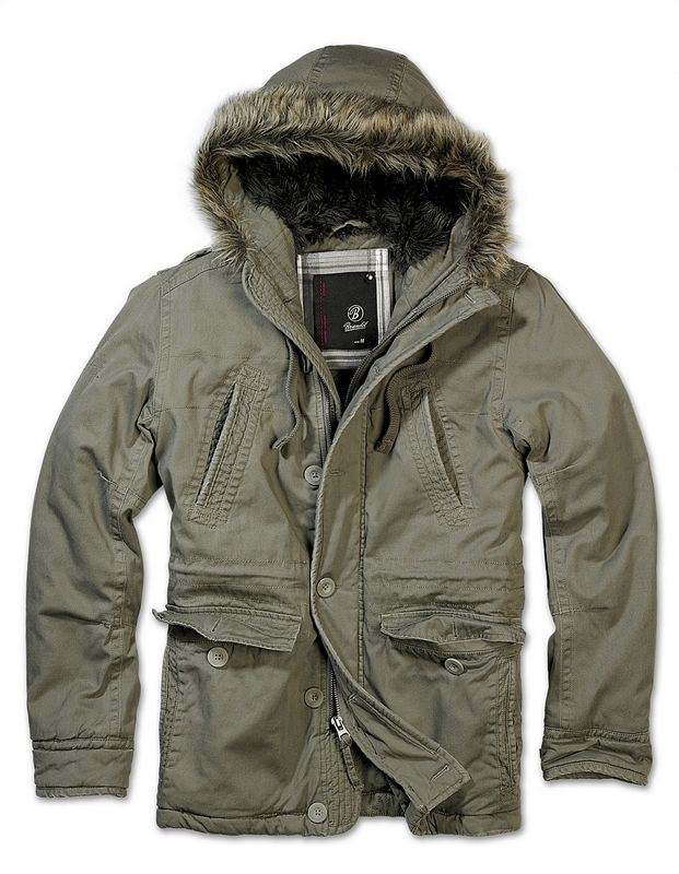 BRANDIT VINTAGE EXPLORER JACKET MENS SHORT MILITARY PARKA WARM ... badc911cc0e