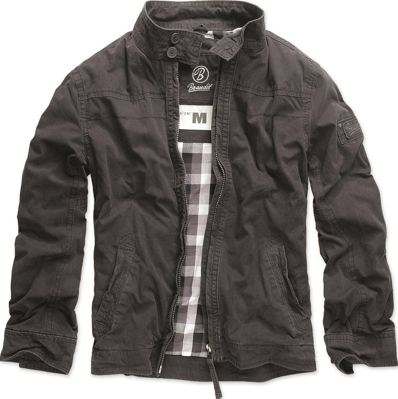 Mens jacket casual - Brandit Mens Casual Yellowstone Jacket Long Sleeve Biker