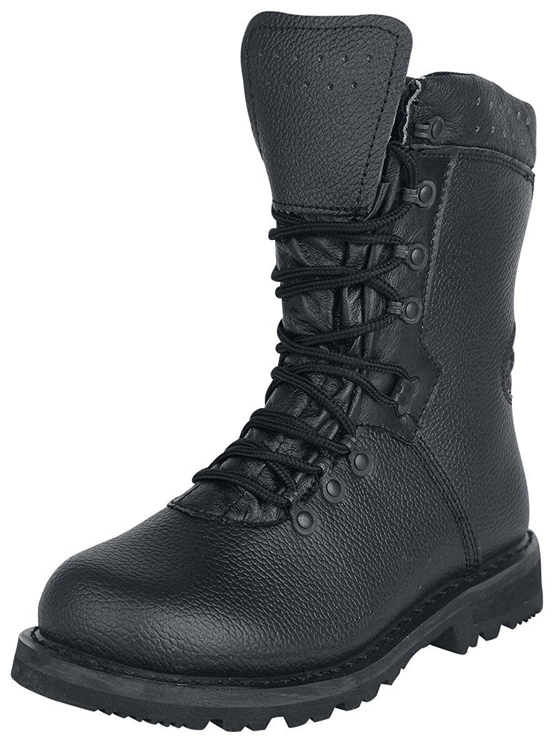 BRANDIT BW GERMAN ARMY LEATHER MILITARY COMBAT BOOTS MODEL