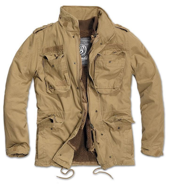 1c106e95106aa Brandit M65 Giant Field Jacket With Lining Parka Olive Army Style 5xl.  About this product. Picture 1 of 3; Picture 2 of 3 ...