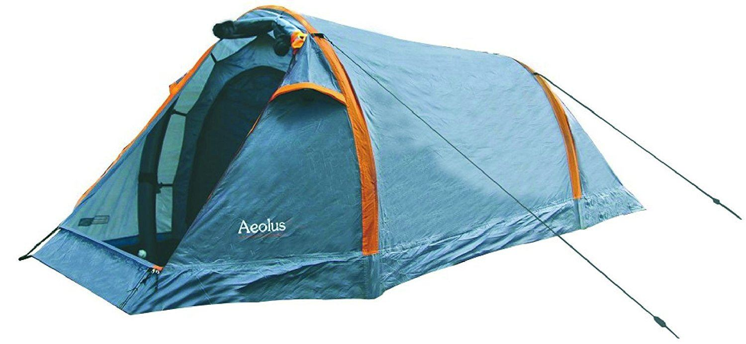 HIGHLANDER HIGHLANDER HIGHLANDER AEOLUS 4 PERSON TENT DOUBLE AIRPOLE INFLATABLE ARMY SHELTER 878987