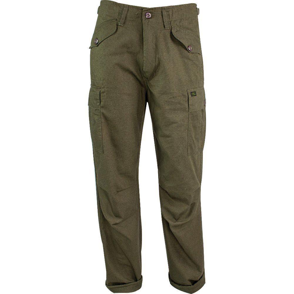 Highlander M65 Pantaloni militare pesca caccia da trekking Ripstop ... 00a31e6ff73d