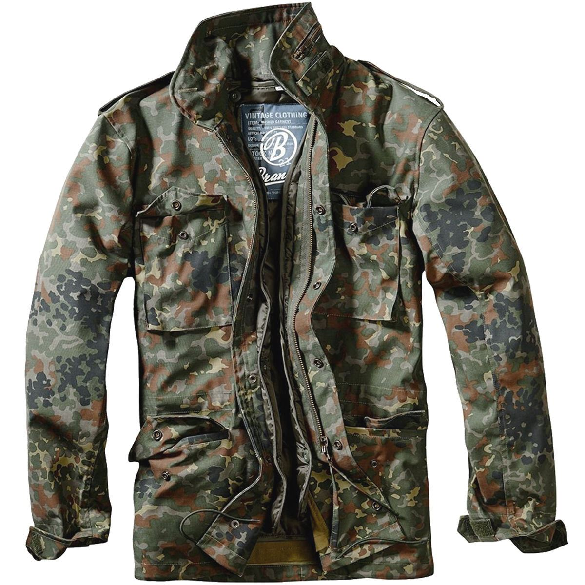 BRANDIT-M65-JACKET-QUILTED-LINER-MENS-MILITARY-ARMY-TACTICAL-COMBAT-FIELD-COAT thumbnail 5