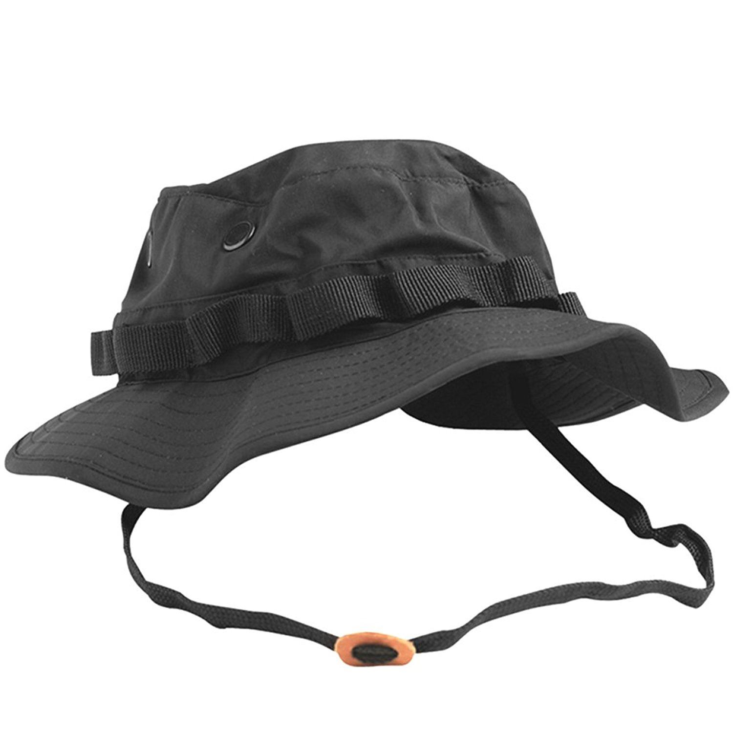 d63e01e5753 TEESAR US Gi Trilaminate Jungle Boonie Hat Hunting Fishing Giggle ...