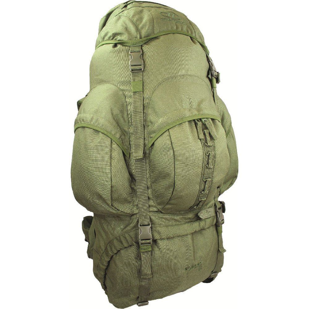 Original armée sac 120 L à fermeture éclair Olive BW sac à dos Outdoor