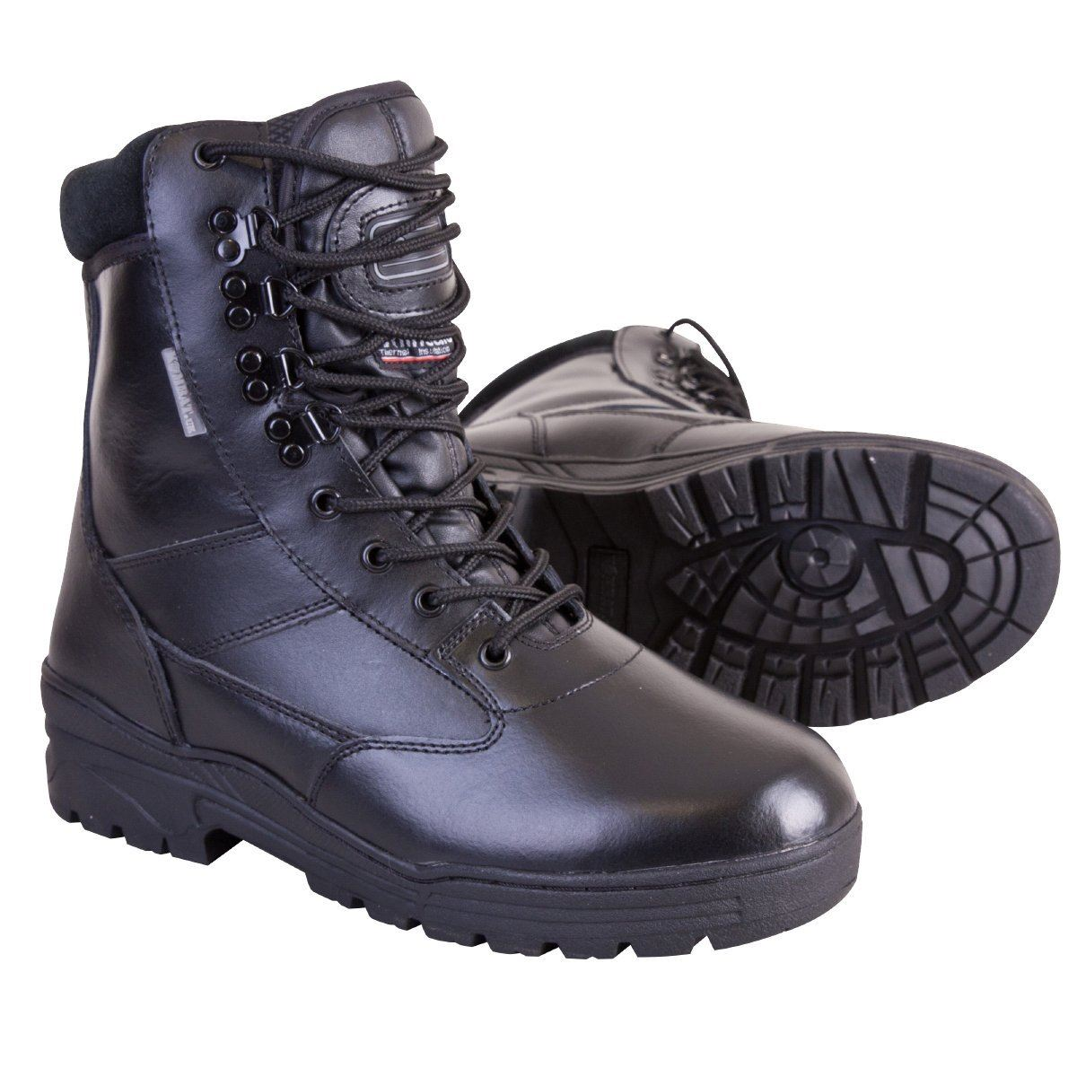 KOMBAT  ALL LEATHER THINSULATE LINED PATROL BOOTS ARMY MILITARY STYLE