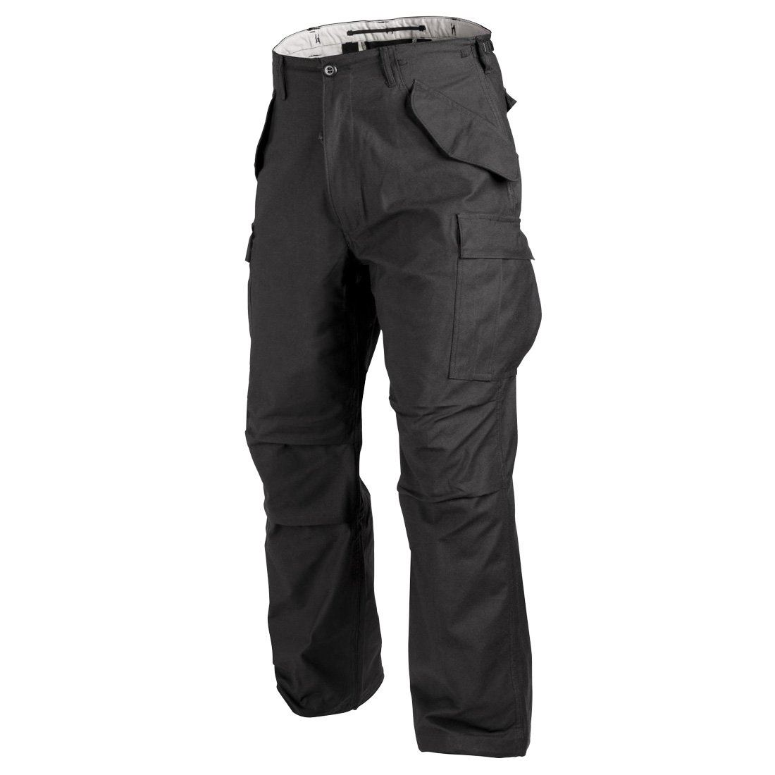 MFH TACTICAL MENS MISSION COMBAT TROUSERS NYCO RIPSTOP POLICE PATROL PANTS BLACK