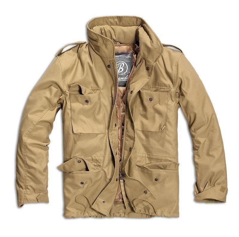 BRANDIT-M65-JACKET-QUILTED-LINER-MENS-MILITARY-ARMY-TACTICAL-COMBAT-FIELD-COAT thumbnail 3