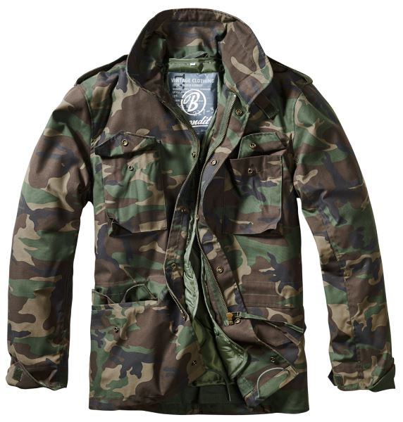 BRANDIT-M65-JACKET-WITH-QUILTED-LINER-MENS-MILITARY-ARMY-COMBAT-FIELD-COAT thumbnail 5