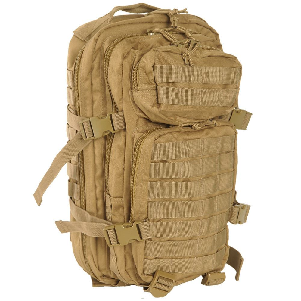 9e1153fce72a0 ... 20l Small US Assault Patrol Tactical Backpack MOLLE Hiking Bag Coyote.  About this product. Picture 1 of 2  Picture 2 of 2