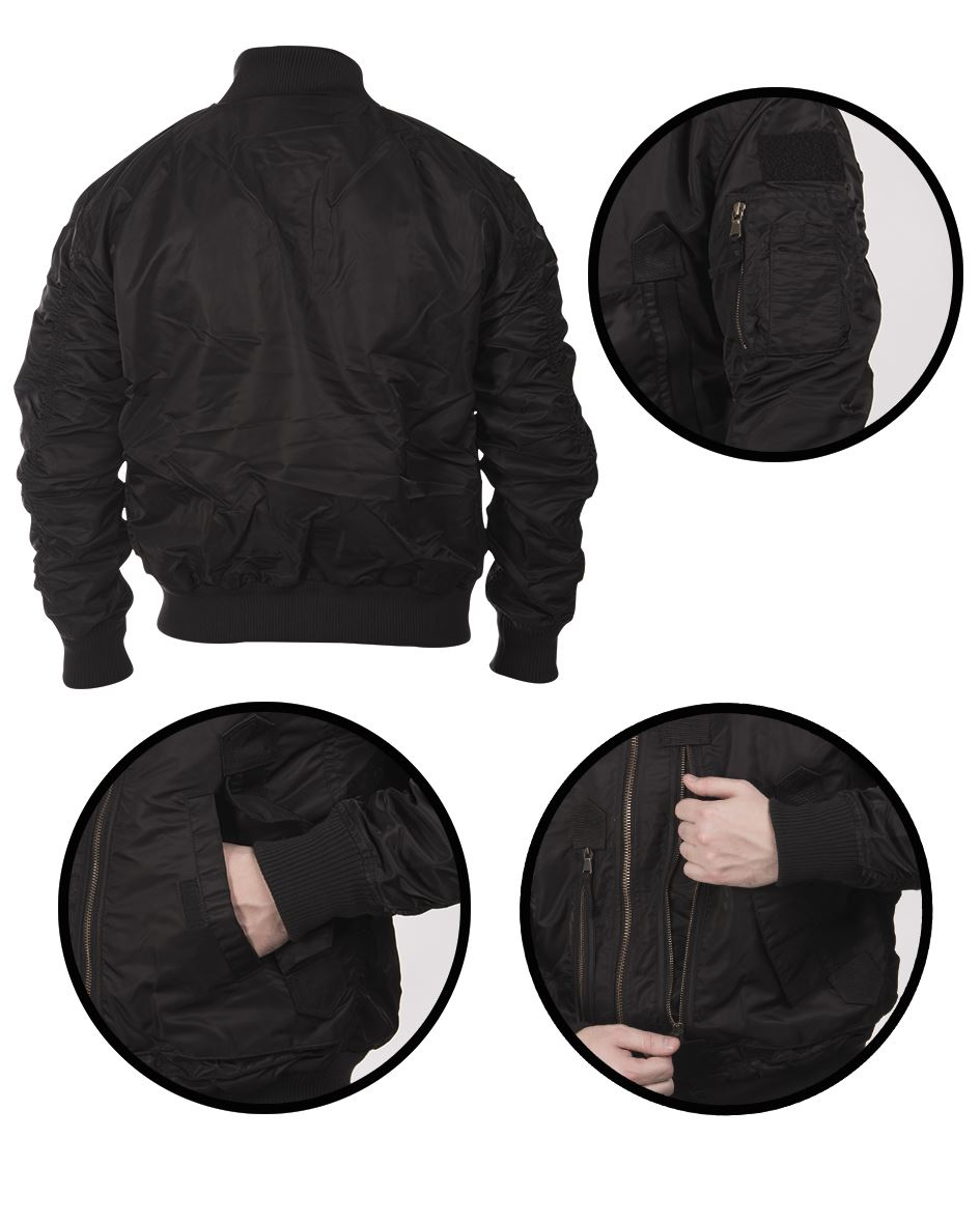 MIL-TEC-US-TACTICAL-FLIGHT-JACKET-MILITARY-OUTDOOR-STYLE-WARM-BRAND-NEW thumbnail 9