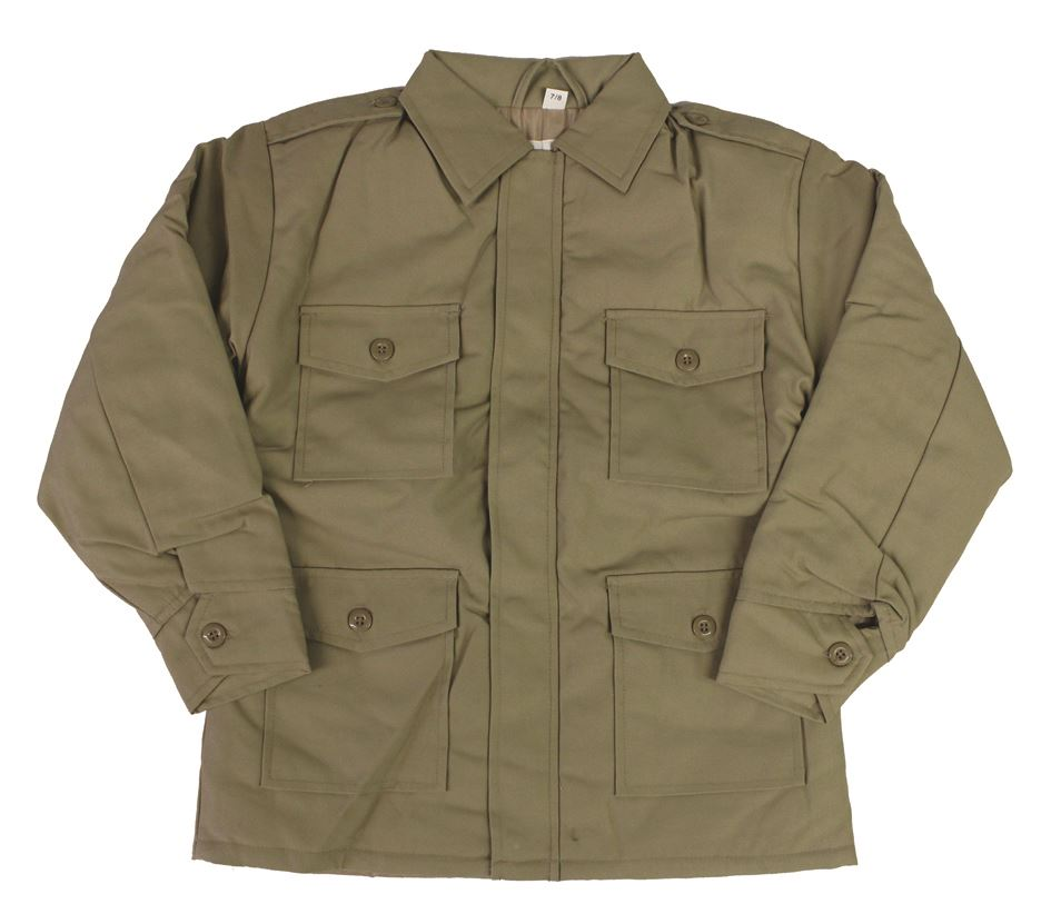 Bambini Combat Giacca Cappotto Mimetico Camo Esercito Abbigliamento per bambini imbottito trapuntato Kids
