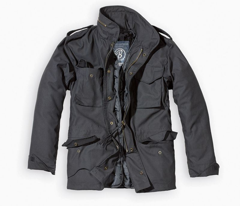 Brandit M65 Jacket With Quilted Liner Mens Military Army Combat