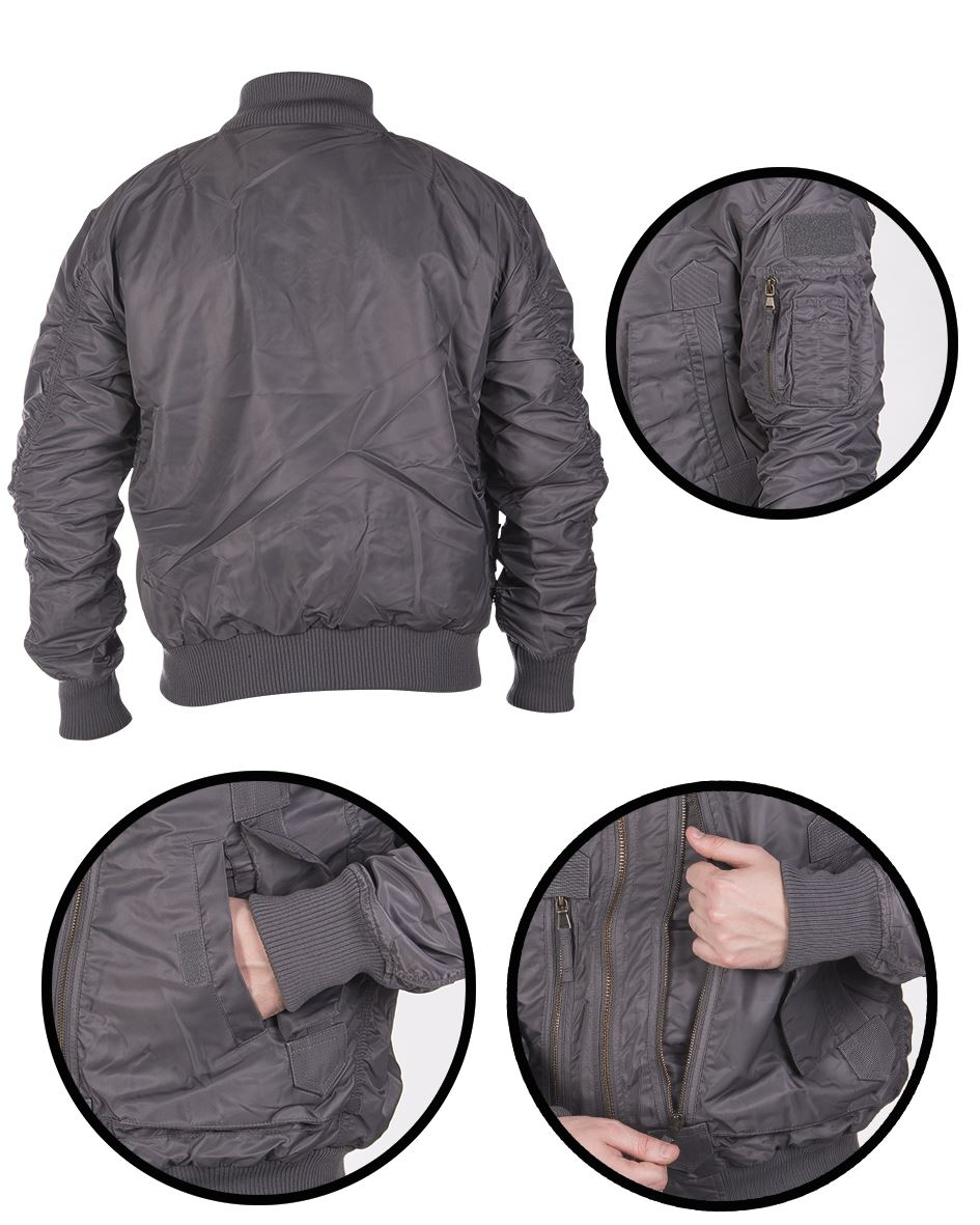MIL-TEC-US-TACTICAL-FLIGHT-JACKET-MILITARY-OUTDOOR-STYLE-WARM-BRAND-NEW thumbnail 5