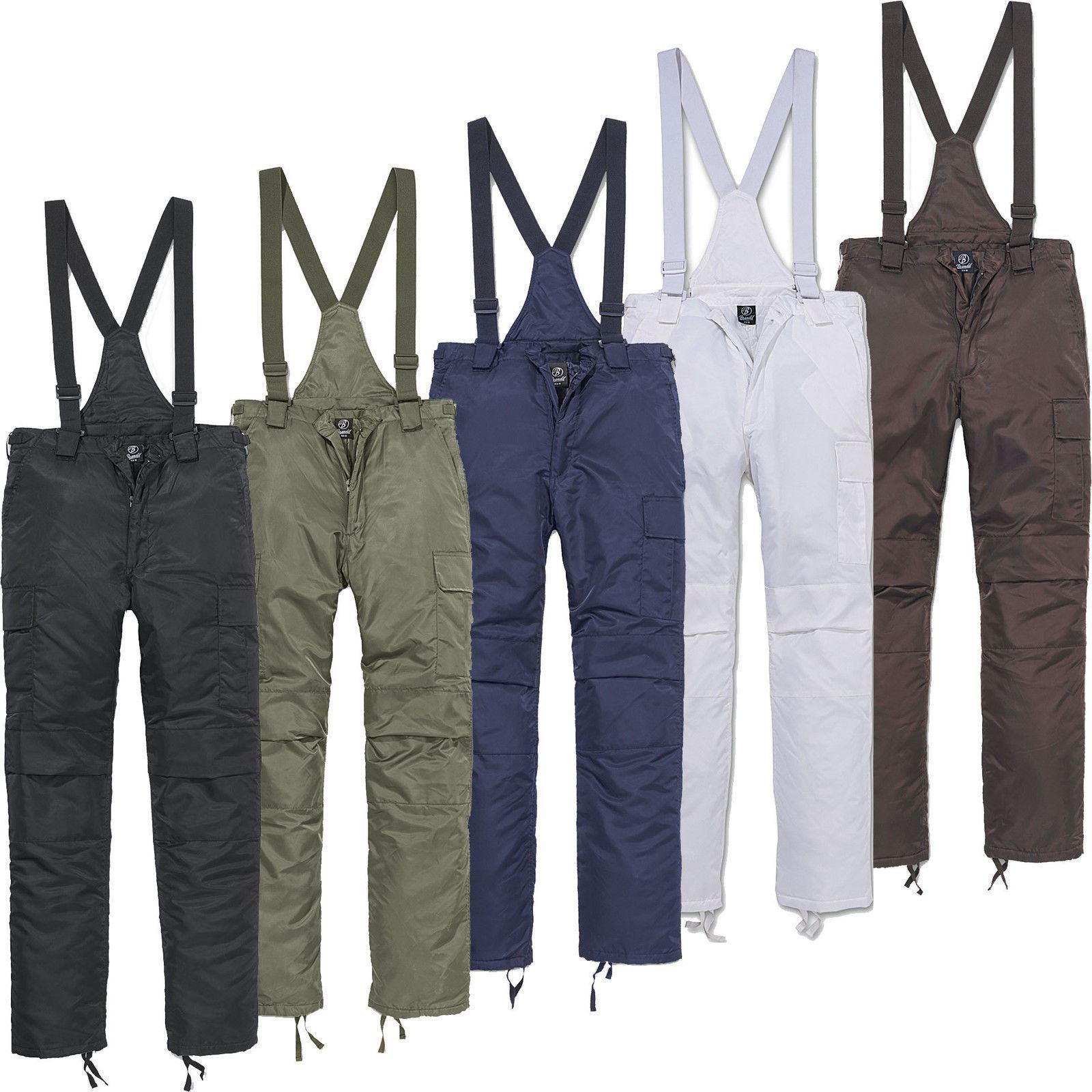 Pantalons Thermiques pour Hommes Brandit Pantalons de Ski