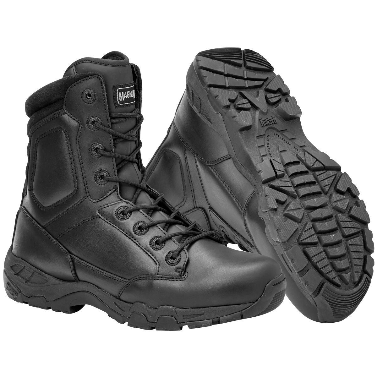 c0d8a544a19 Details about MAGNUM VIPER PRO 8.0 LEATHER BOOTS MENS WATERPROOF SECURITY  PATROL POLICE BLACK