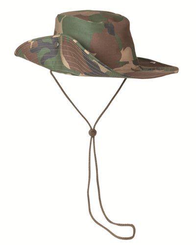 Mil-Tec Army Boonie BUSH HAT Military Sport Safari Jungle Black