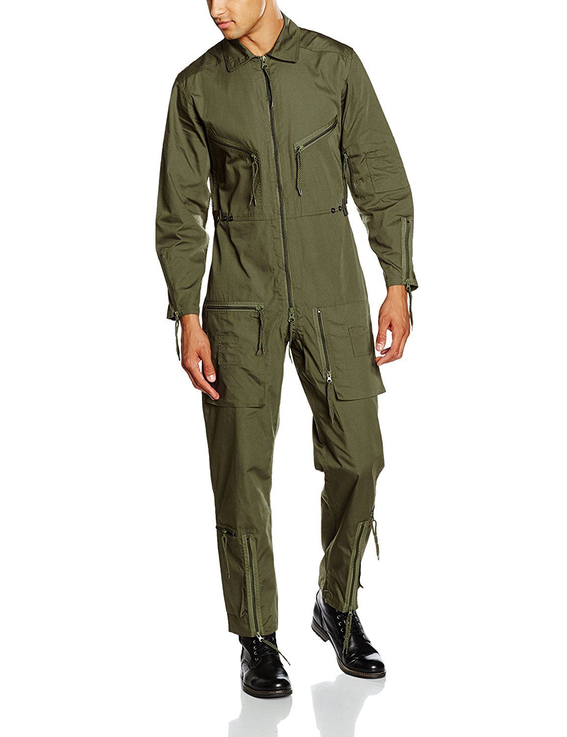 MIL-TEC PILOTS FLIGHT SUIT AVIATORS FLYING COVERALL RAF MILITARY BOILERSUIT