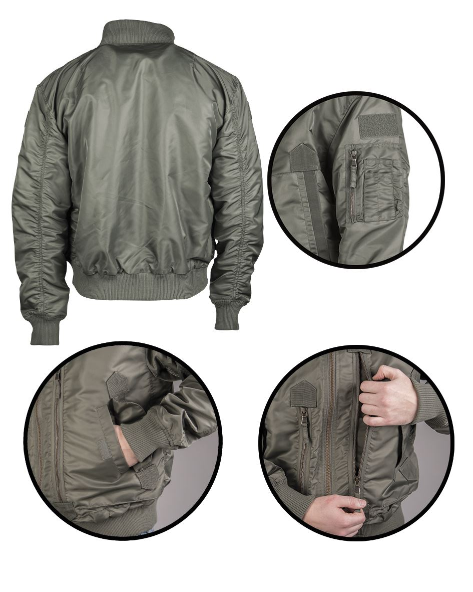 MIL-TEC-US-TACTICAL-FLIGHT-JACKET-MILITARY-OUTDOOR-STYLE-WARM-BRAND-NEW thumbnail 7