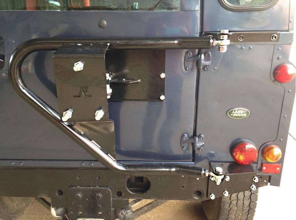 Land Rover Defender 90 110 130 Swing Away Spare Wheel