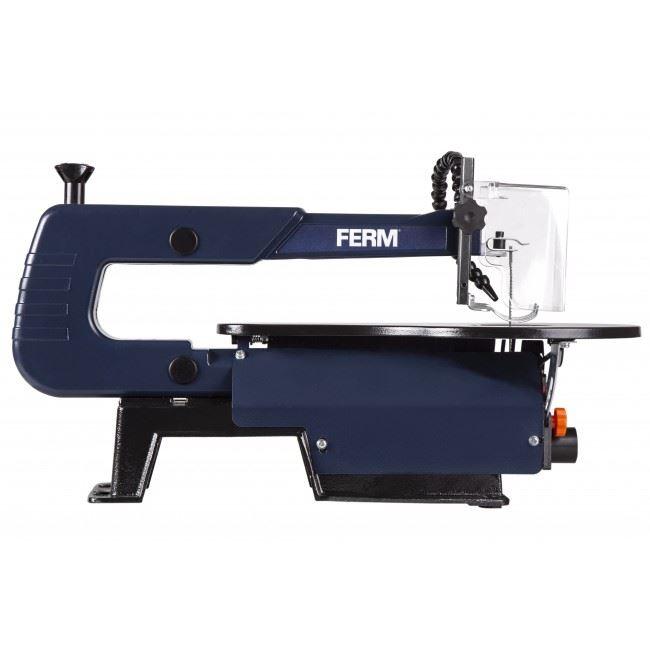 Details about FERM 120w Scroll Saw with Foot Pedal Woodwork Plexiglass  Cutting Fretwork