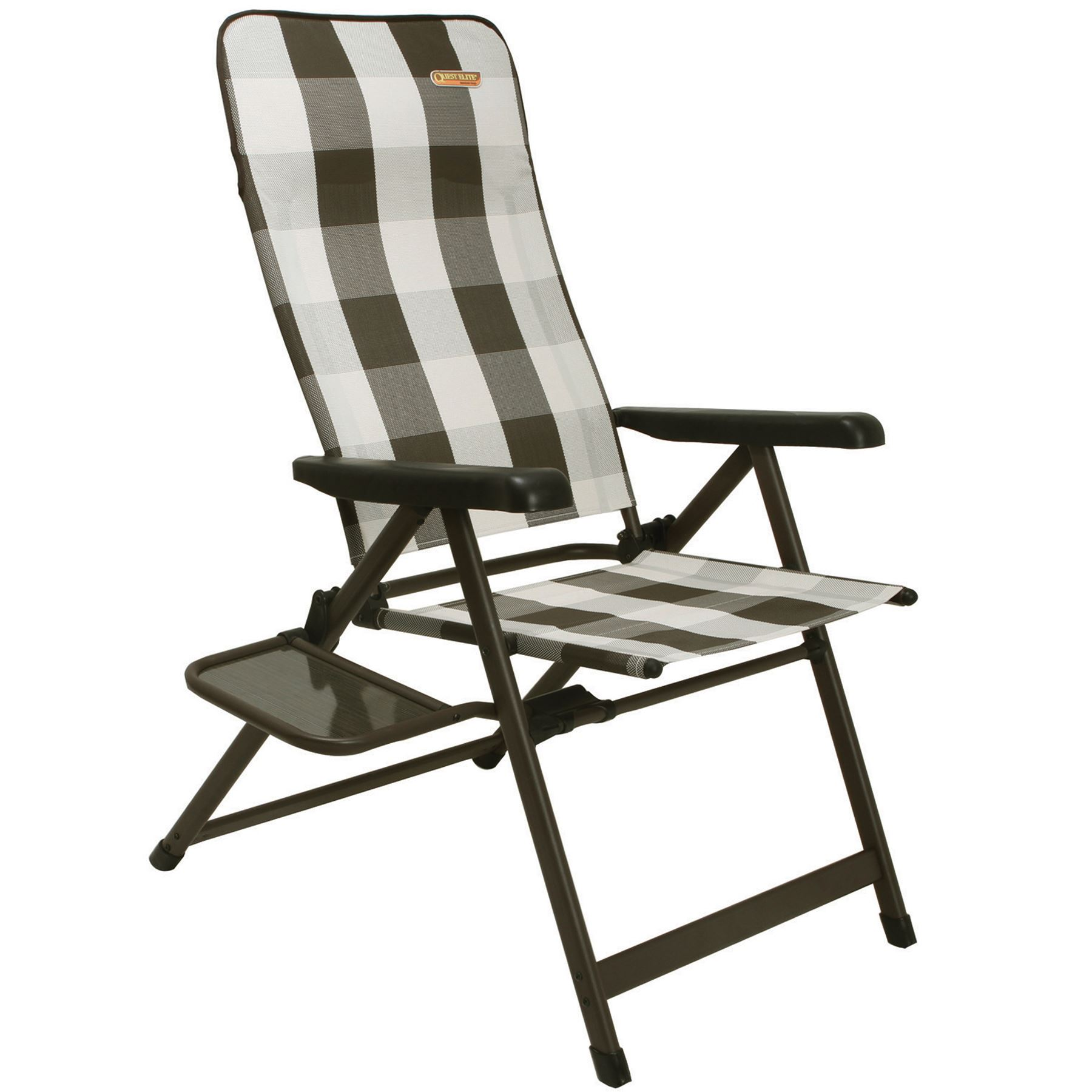 Quest Marrakesh Premium XL Chair Side Table Recliner Aluminium