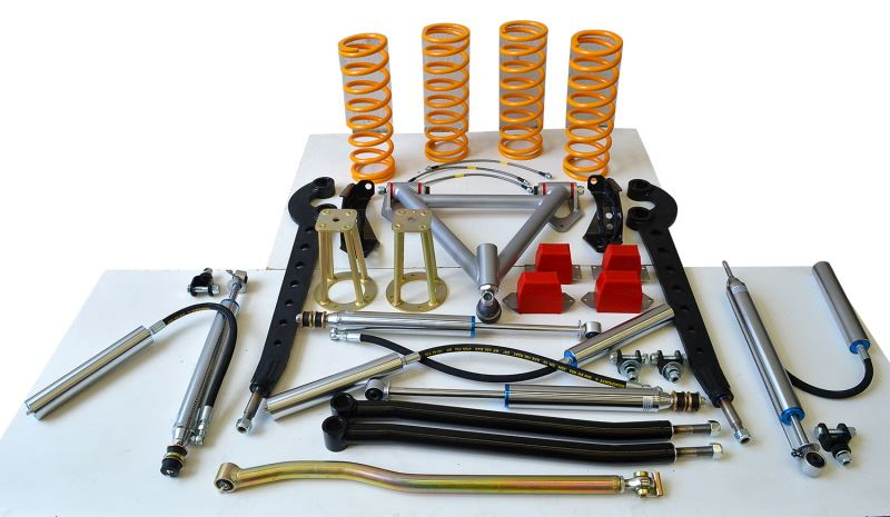 raptor 4x4 extreme traction suspension lift kit 4 land rover discovery 1 rrc ebay