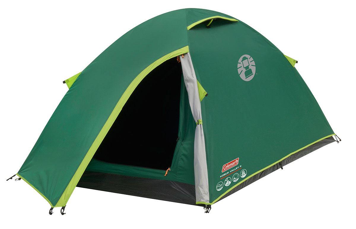 *NEW* Coleman Kobuk Valley 3 Plus Tent3 Person Dome Tent Blackout Bedroom