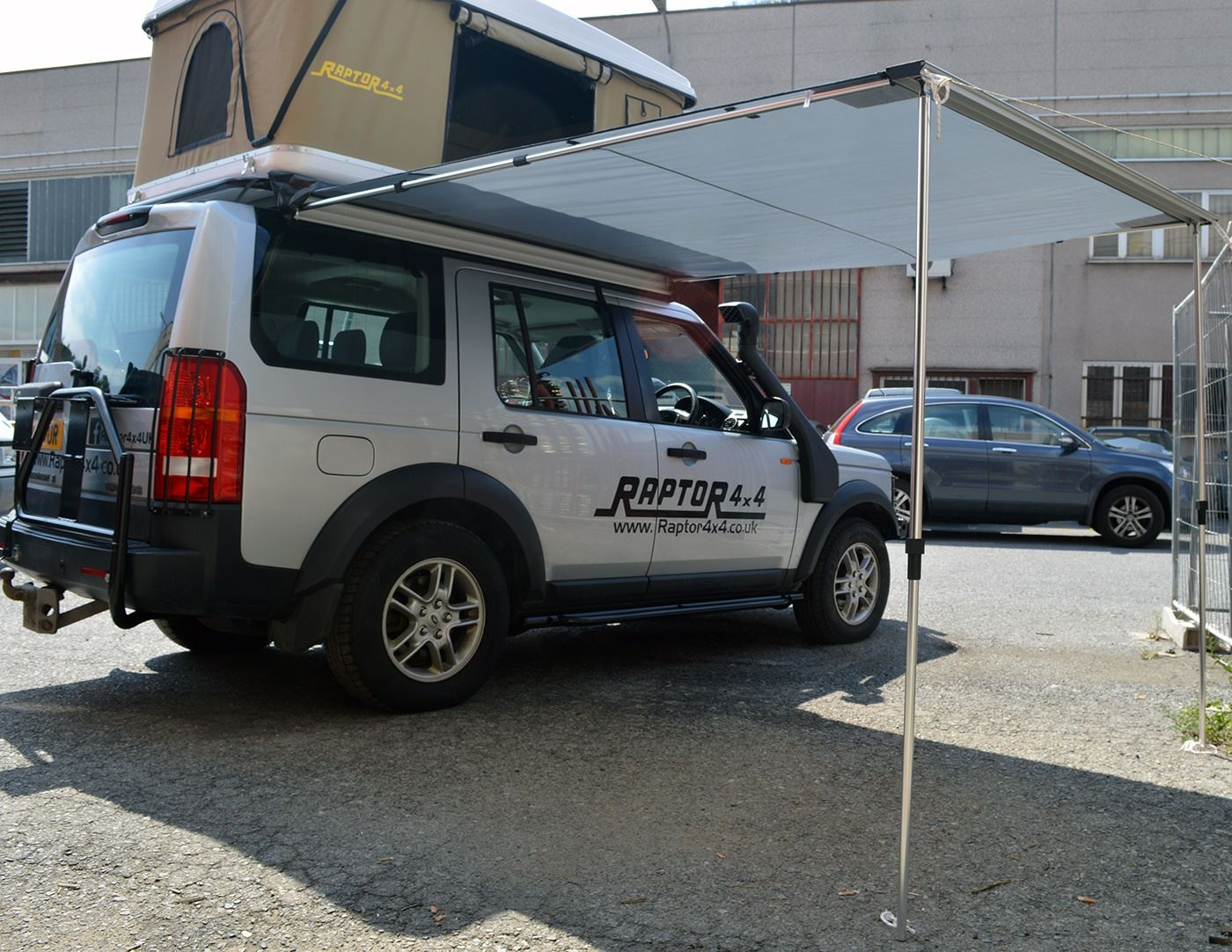Image Is Loading Raptor 4x4 Side Awning Pull Out Shelter Land