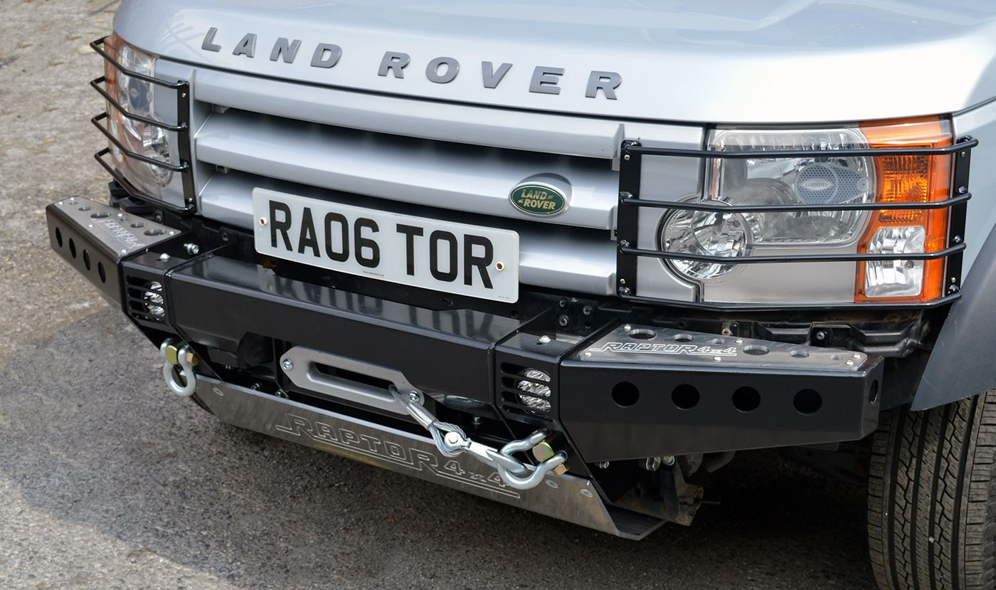 for from without bumper first duty shadow brush land discovery rover landrover lights guard heavy