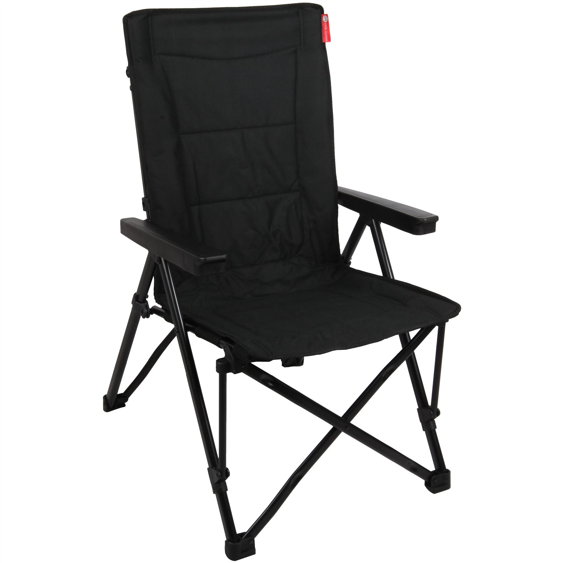 Crusader GlobeTrotter Folding Reclining Chair Camping Caravan