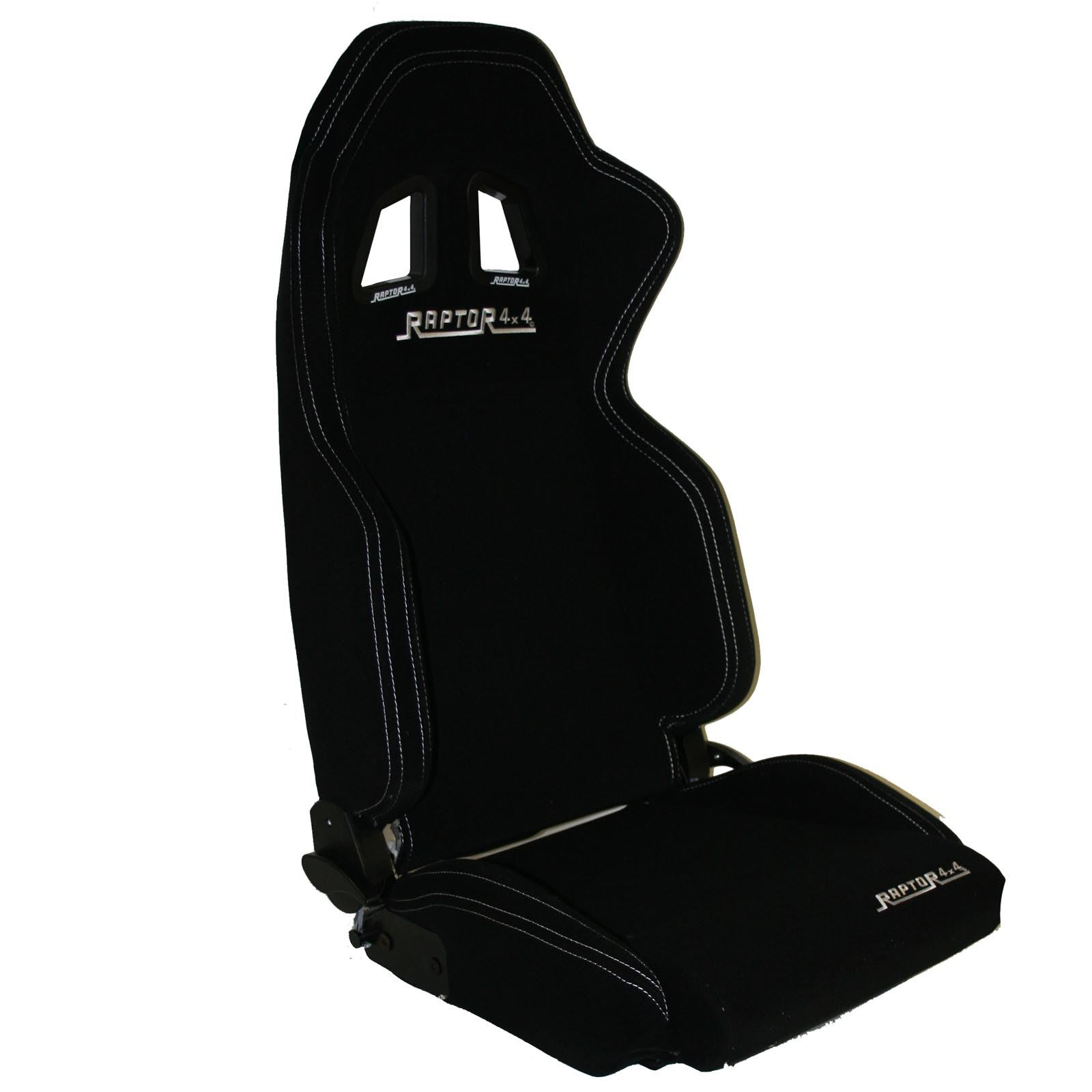 raptor 4x4 sport bucket seat black fabric off road racing interior styling ebay. Black Bedroom Furniture Sets. Home Design Ideas