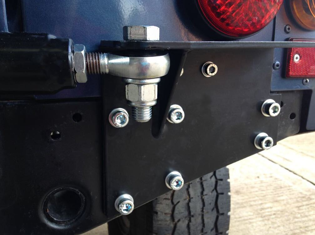 Land Rover Defender 90 110 130 Swing Away Spare Wheel