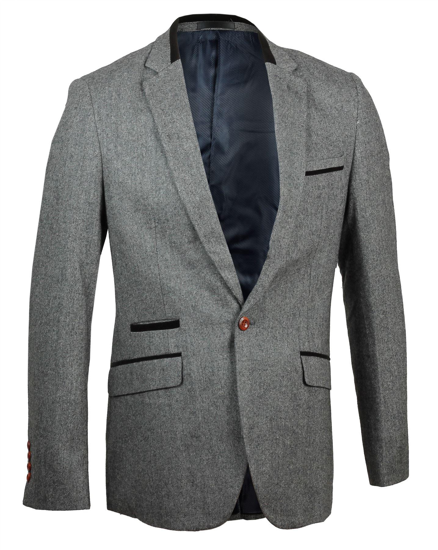 mens inc international concepts grey 1-button blazer sz xl slim fit nwt $ see more like this Chaps Blazer Suit Jacket Mens 38 Regular Slim Fit Grey 2 .