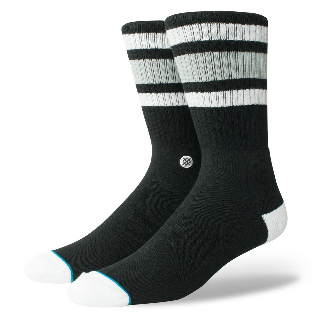 Stance Trades Socks Black-Large