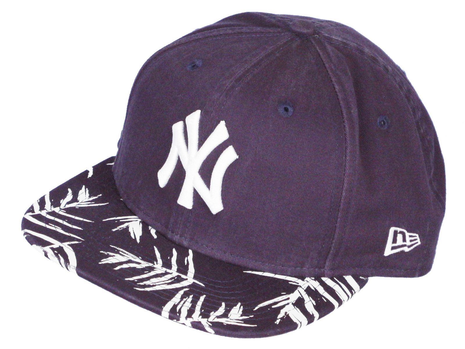8ed84dc1e37 New Era Sandwash Visor Print 9Fifty Flatbill Cap ~ New York Yankees ...