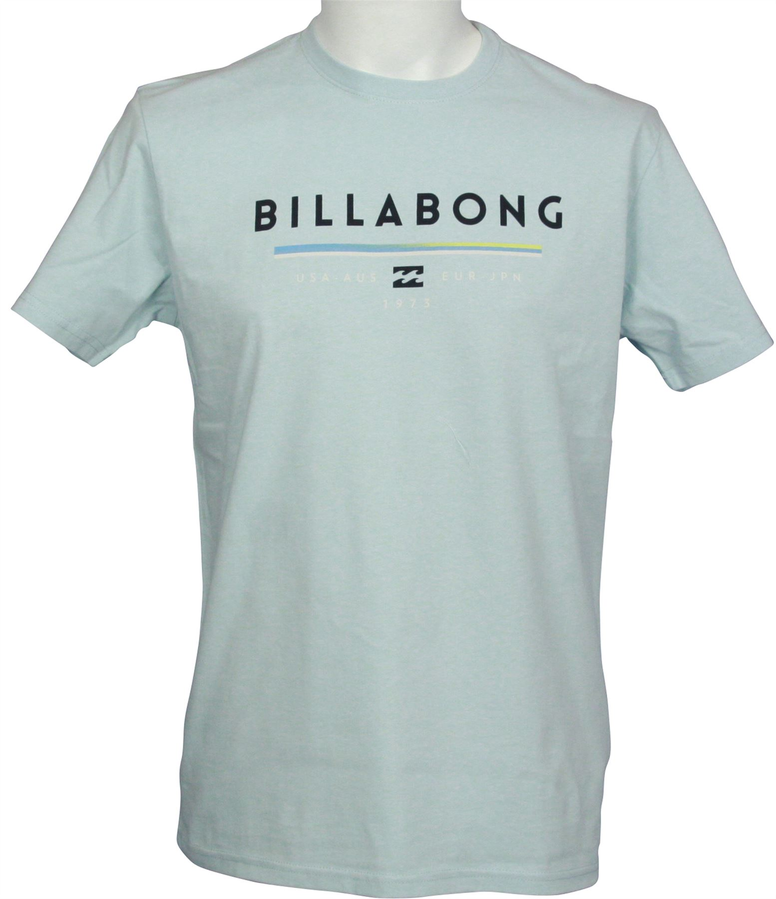 b4a714a8 Billabong Men's T-Shirt ~ Unity sky blue | eBay