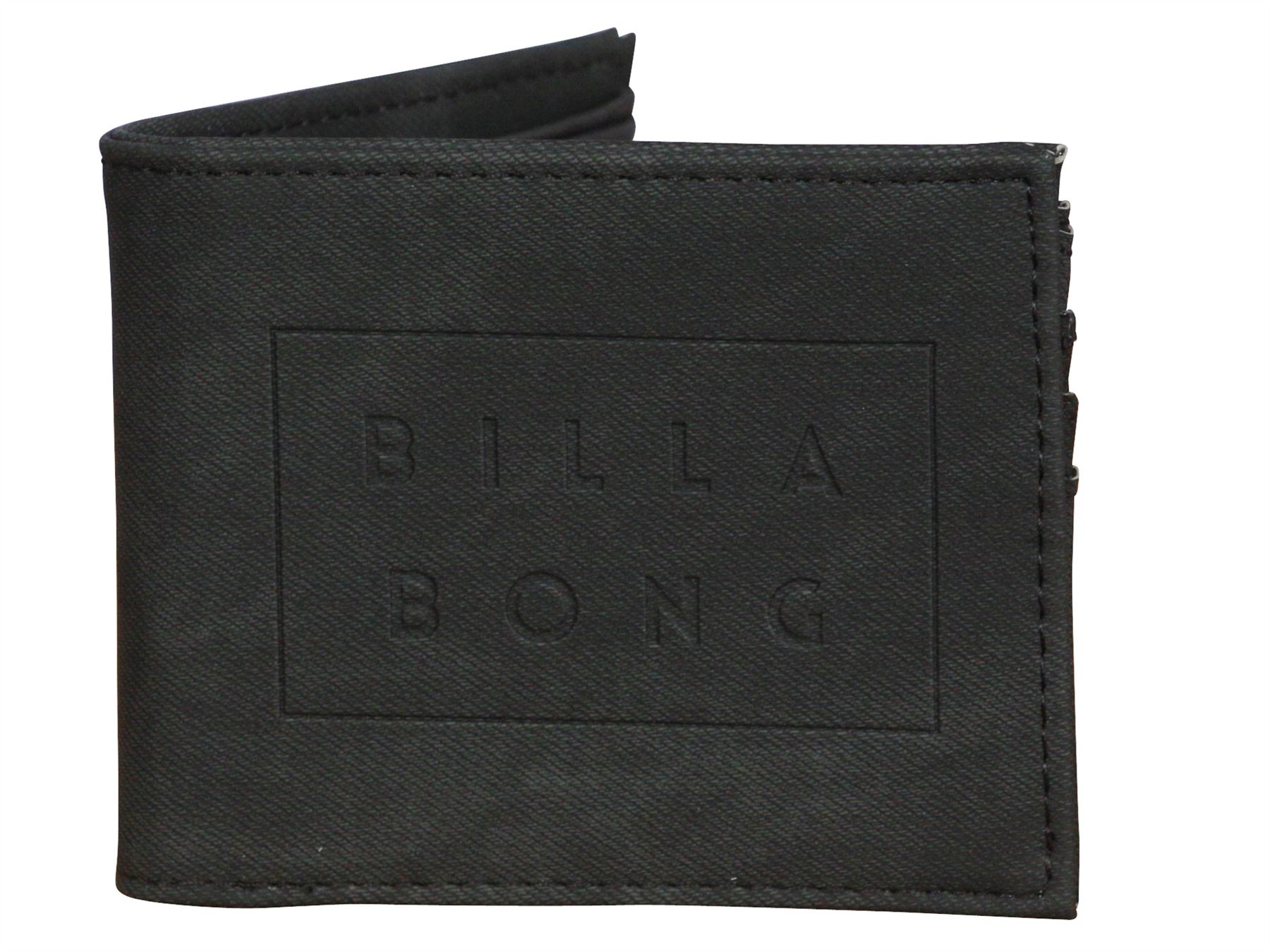 2 Billabong Bifold Wallet ~ Tribong Big Bill Negro