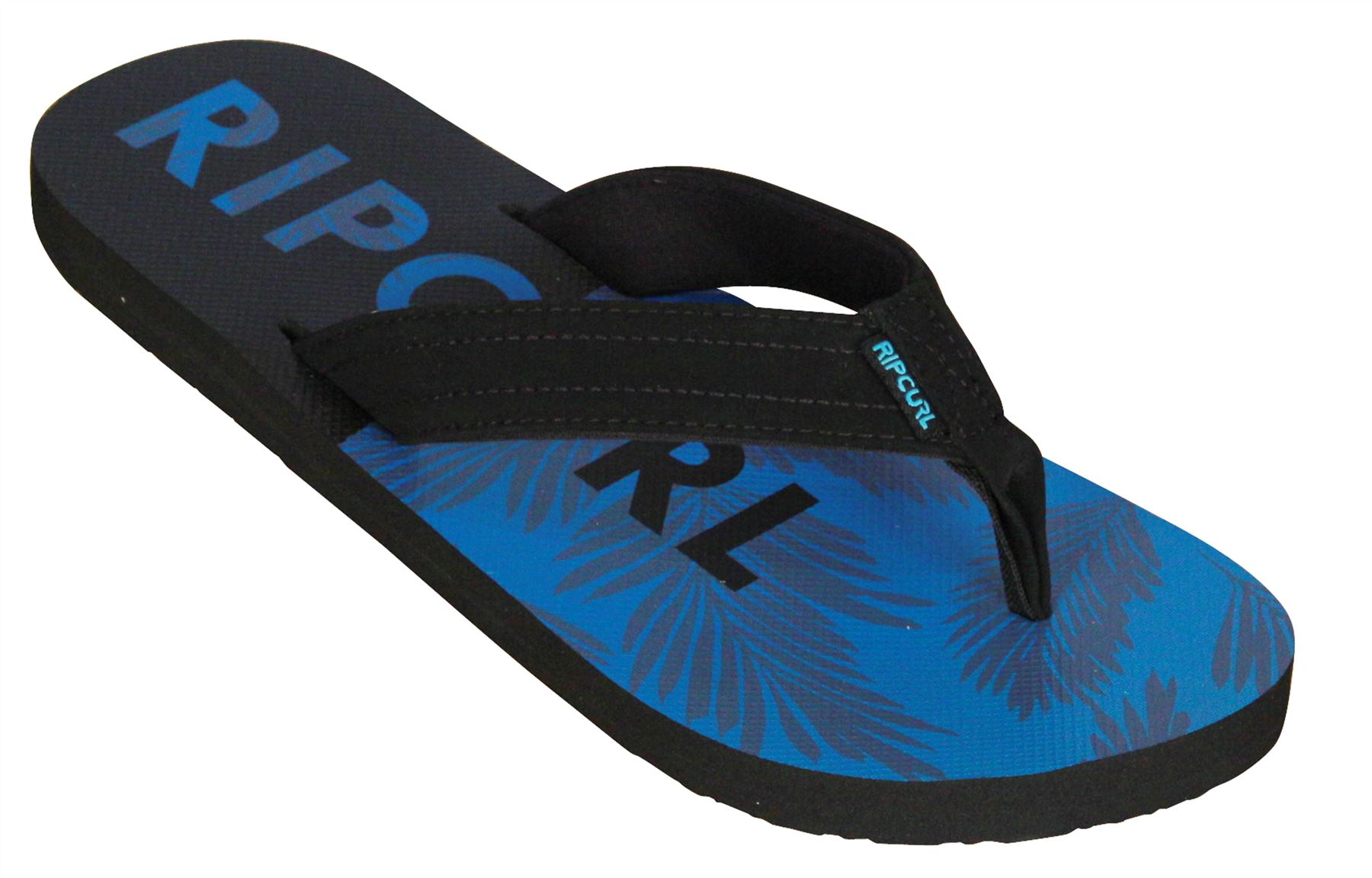 d1ee12907b4bb Details about Rip Curl Mens Sandals ~ Ripper black blue