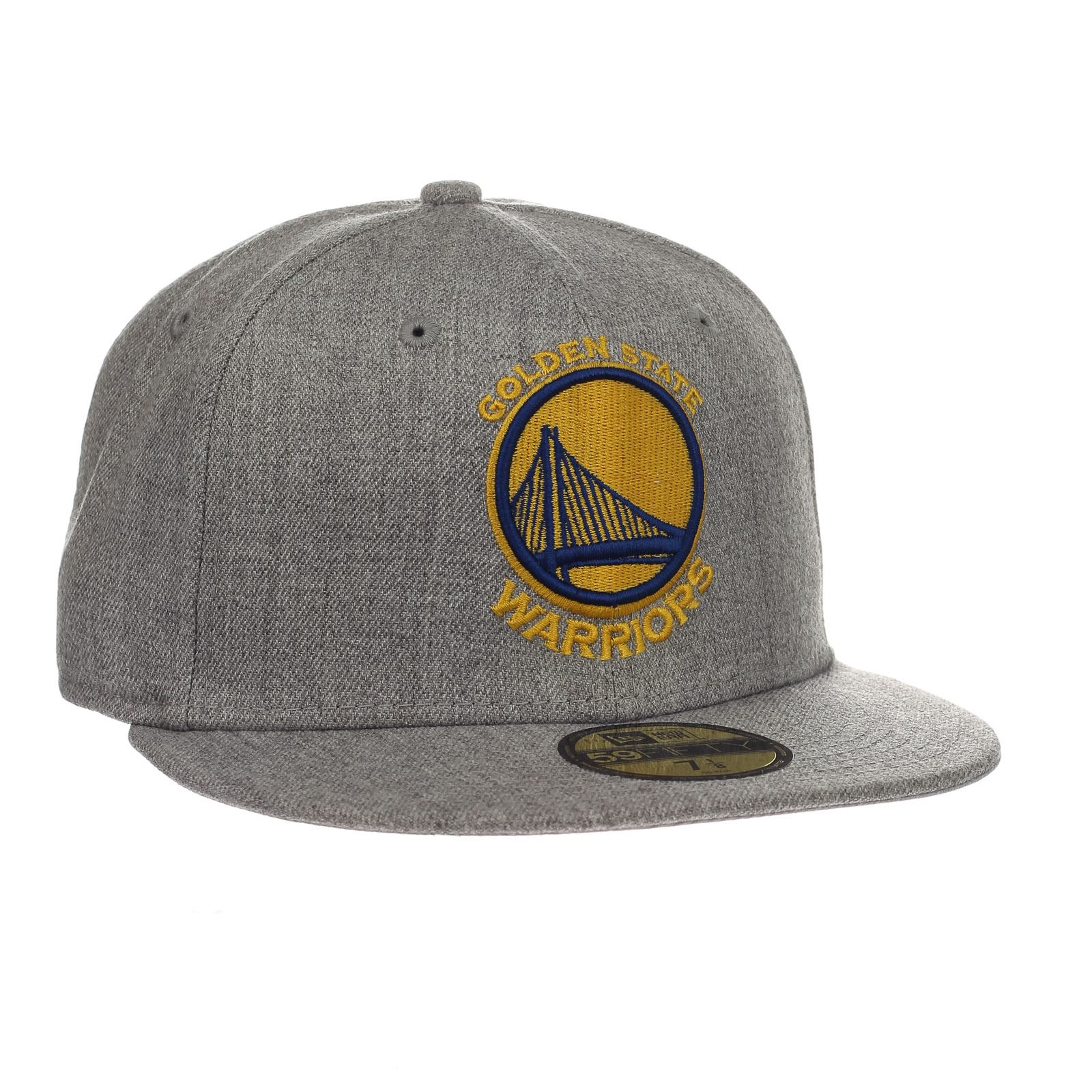 3d3ce936278 Details about New Era and NBA Heather Fitted 59Fifty Cap ~ Golden State  Warriors