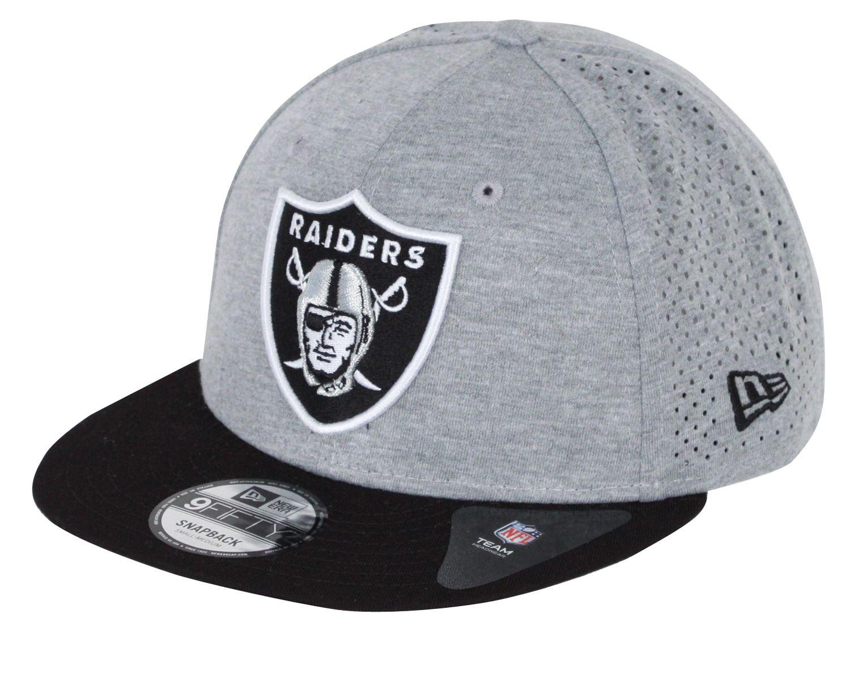 HEATHER Oakland Raiders New Era 9Fifty Snapback Cap