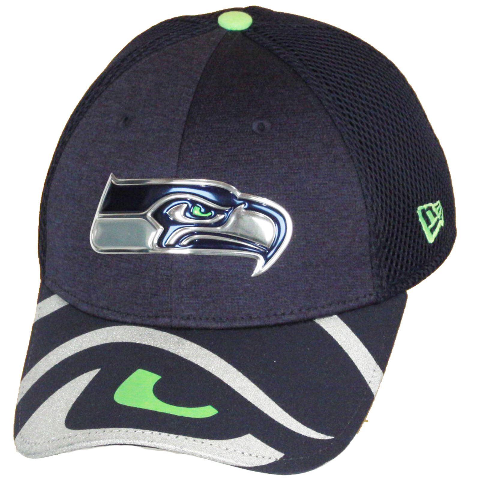 new concept 09702 2041e Era 3930 Seattle Seahawks 2017 NFL Draft on Stage OTC Cap Cap ...