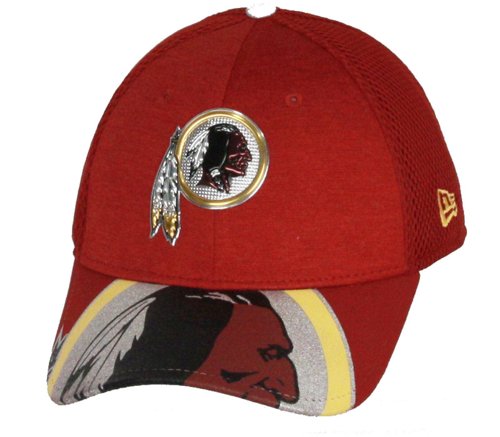 Era 3930 Washington Redskins 2017 NFL Draft on Stage OTC Cap Cap ... f17cbfae6