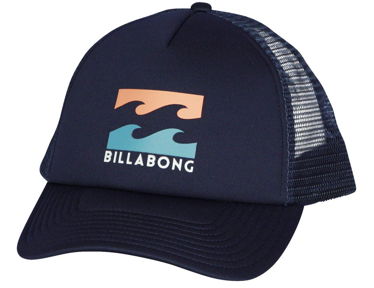 Billabong Trucker Snapback Cap ~ Podium indigo 3664564209438  44b13d54ecd4