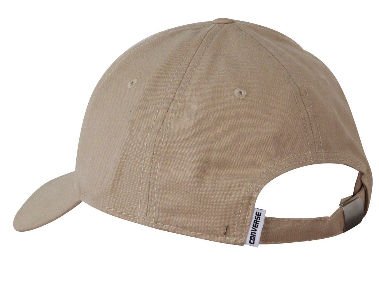 Result Core 6 Panel Khaki baseball cap with adjustable fastner