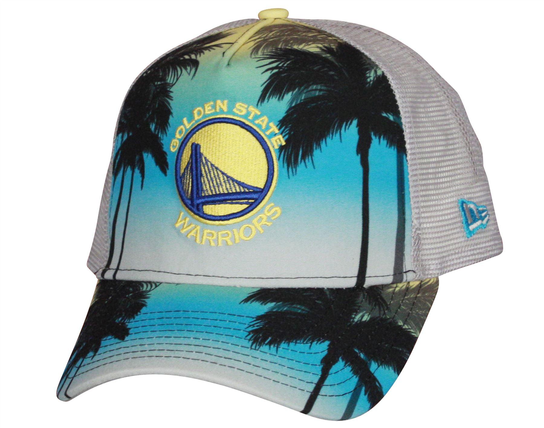 401cd985e Details about New Era Coastal Heat Trucker Cap ~ Golden State Warriors
