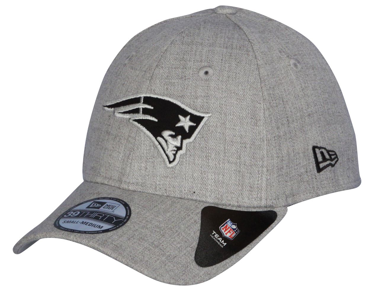 Details about New Era Heather Essential 39Thirty Cap ~ New England Patriots cd5f5ef7ba1f