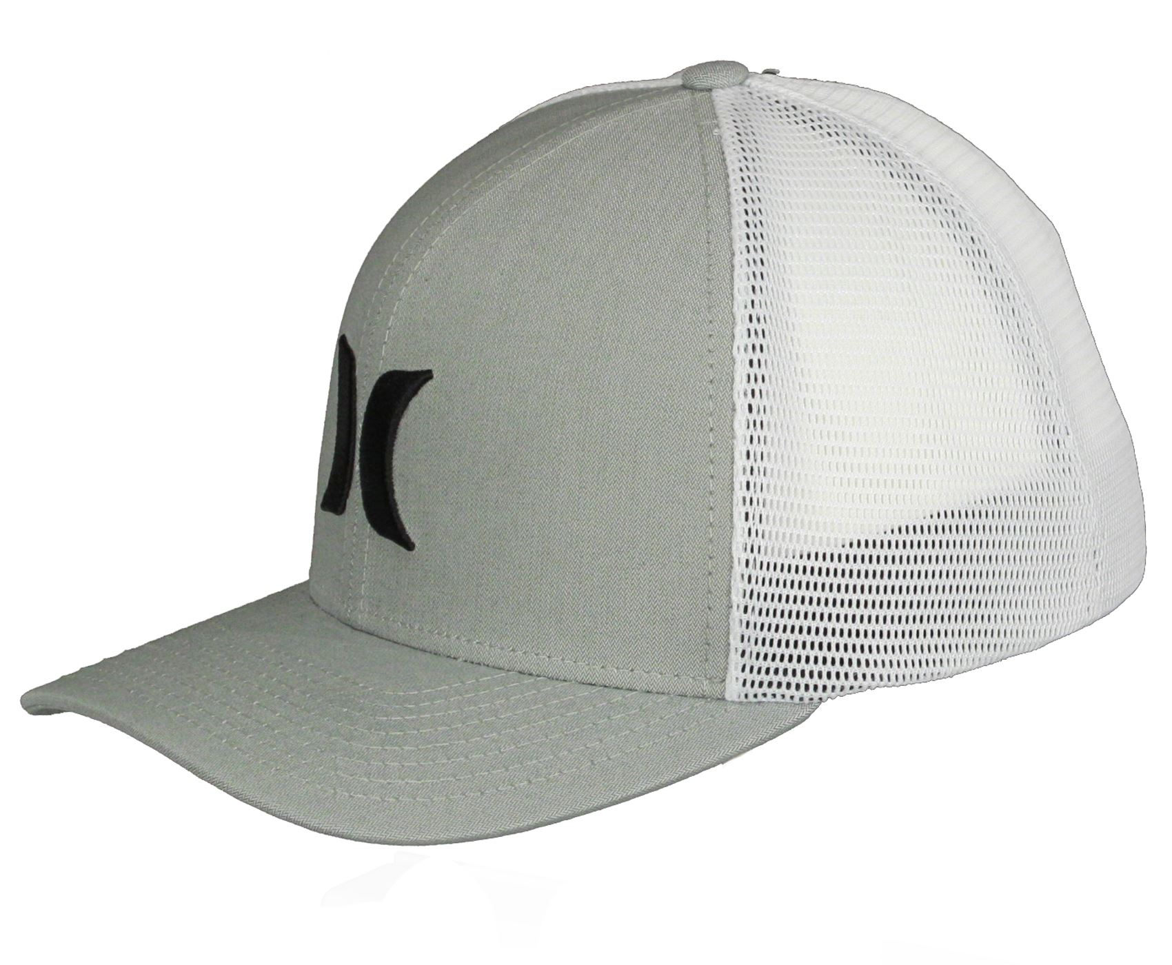 online store 85bd7 7fb90 3D embroidered Hurley logo on front. Embroidered Hurley logo and name on  back. Trucker style. 6 panel. Full crown.