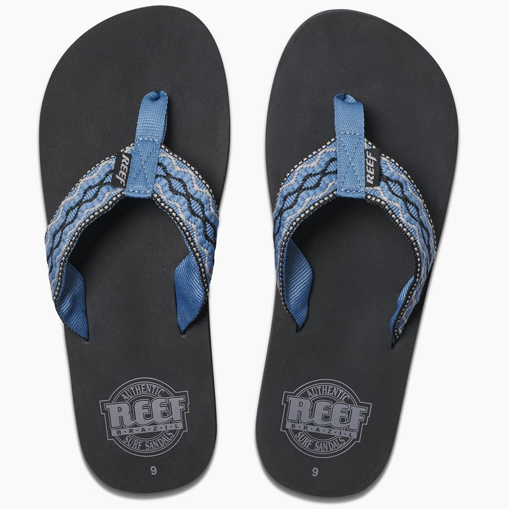 b07885d1542 Details about Reef Mens Sandals ~ Smoothy vintage blue